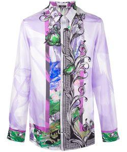 Versace Collection   Border Print Shirt