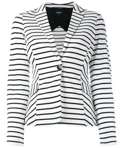 ARMANI JEANS | Striped Blazer 48