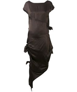 Alessandra Marchi | Платье С Декоративными Узлами