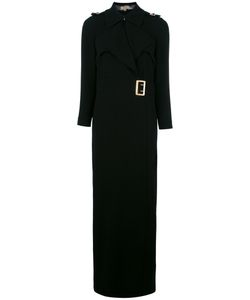 Burberry | Belt Wrap Dress 6 Acetate/Polyester