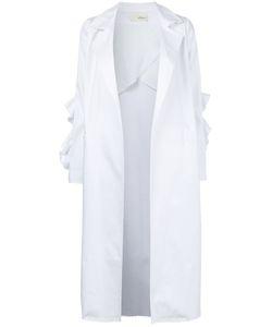 Elaidi | Ruffle Trim Coat Size 46