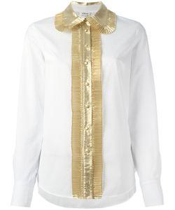 Manoush   Contrast Shirt 36 Cotton/Nylon Fibre