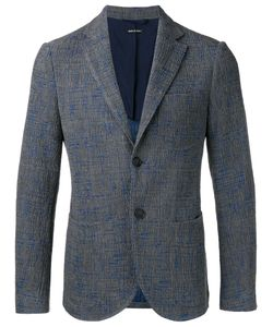 Giorgio Armani | Patch Pockets Blazer 52 Polyamide/Viscose/Cotton/Acetate