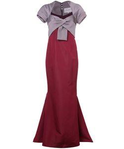 Carolina Herrera | Платье С Контрастным Топом