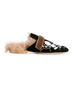 GIA COUTURE | Lamb Fur Lined Slippers
