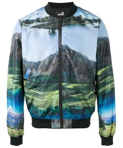 Love Moschino | Landscape Print Bomber Jacket