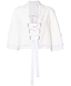 Victor Alfaro | Lace-Up Blazer Size 2