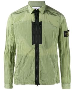 Stone Island | Zipped Lightweight Jacket Large Polyamide