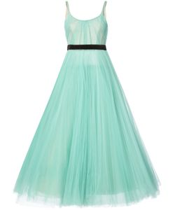J. Mendel | Pleated Ball Gown Women