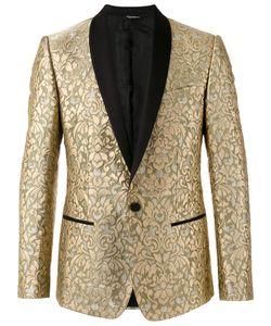 Dolce & Gabbana | Paisley Embossed Blazer Size 50