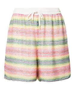 Ashish | Beaded Striped Shorts
