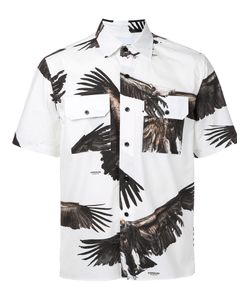 Yoshio Kubo | Рубашка С Короткими Рукавами И Принтом Орлов