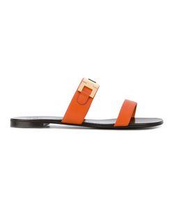 Giuseppe Zanotti Design | Double Bar Sandals Size 38