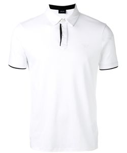 ARMANI JEANS | Contrast Detail Polo Shirt