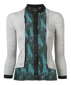 Yigal Azrouel | Contrast Cardi-Shirt Size Large