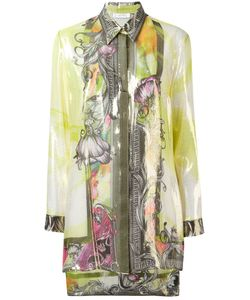 Versace Collection | Printed Shirt 46 Silk/Polyester