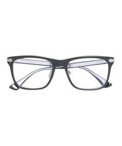 Gucci Eyewear | Embossed Titanium Square Glasses