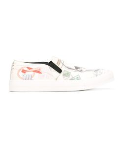Alexander McQueen | Letters From India Slip-On Sneakers Size 40.5