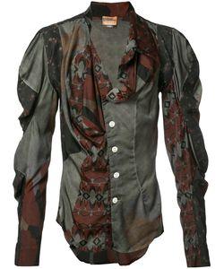 Vivienne Westwood   Рубашка С Присборенными Рукавами