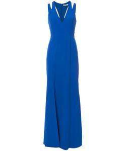 Halston Heritage | Cut-Out Back Maxi Dress