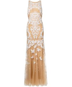 Zuhair Murad | Backless Beaded Gown 38 Silk/Polyamide