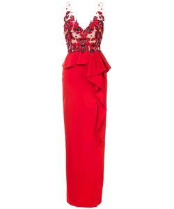 Marchesa Notte | Sequin Poppy Gown Women
