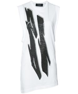Dsquared2 | Tiger Flash Sequin T-Shirt Dress Small Sequin/Cotton