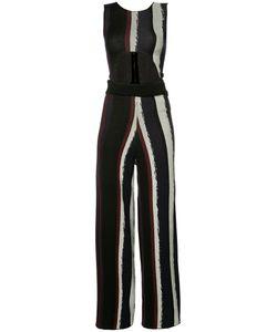 BAJA EAST | Cut-Out Front Jumpsuit 00 Cotton