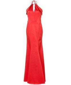 Zac Zac Posen | Salma Sleeveless Gown 10 Polyester/Acetate/Polyester/Polyurethane