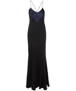GALVAN | Cut-Out Spaghetti Straps Dress 34 Triacetate/Polyester/Spandex/Elastane