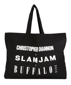 Christopher Shannon | Logo Print Tote Bag