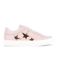 Nubikk | Star Print Lace-Up Sneakers