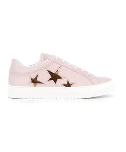 Nubikk | Star Print Lace-Up Sneakers Size 37