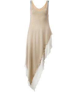 Loewe   Асимметричное Вязаное Платье-Майка