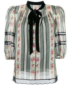 Marc Jacobs | Print Tie Collar Blouse 8