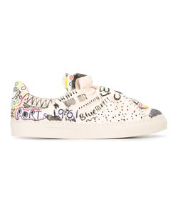 Ports | 1961 Printed Knot Sneakers 40 Cotton/Goat Skin/Other Fibres/Rubber