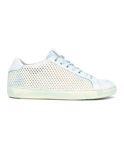 Leather Crown | Perforated Sneakers Size 40