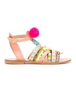 ELINA LINARDAKI | Komono Embellished Sandals Size 36