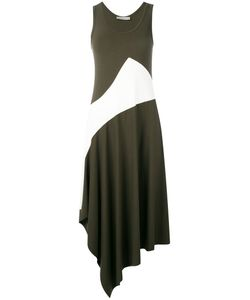 D.exterior | Asymmetric Panel Dress L
