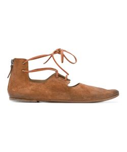 Marsell | Marsèll Laced Cut-Out Ballerina Shoes