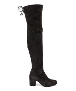 Stuart Weitzman | Tieland Boots 39 Rubber/Suede/Leather