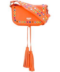 Moschino | Mirror Embellished Shoulder Bag Calf Leather