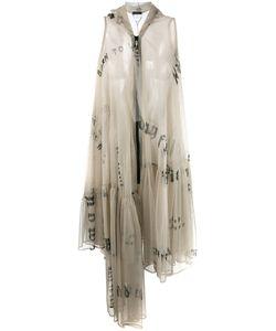 AREA DI BARBARA BOLOGNA | Sheer Ruffled Dress