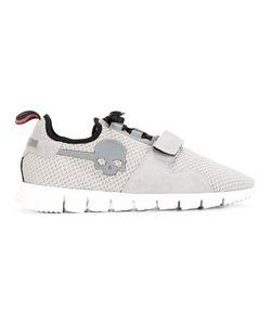 Hydrogen   Velcro Sneakers 44 Nylon/Leather/Rubber