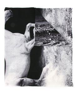 Yoshio Kubo | Printed Horses Scarf Men