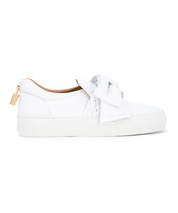 Buscemi | Bow Detail Slip-On Trainers 38 Calf Leather/Rubber/Leather