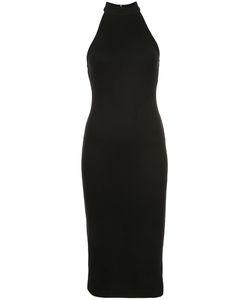L'Agence | Ribbed Halter Dress Women Xs
