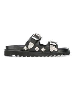 TOGA VIRILIS   Buckle Strap Sandals