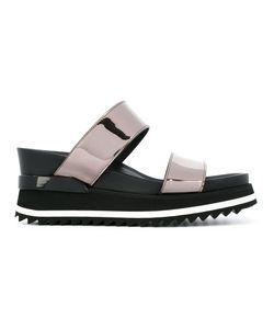 A.F.Vandevorst | Straps Platform Sandals Size 40 Calf Leather/Patent