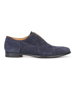 ARMANDO CABRAL | Allen Laceless Derby Shoes 8 Suede/Leather